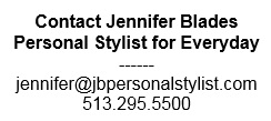 Contact Jennifer Blades Personal Stylist Fashion Consultant Cincinnati Ohio