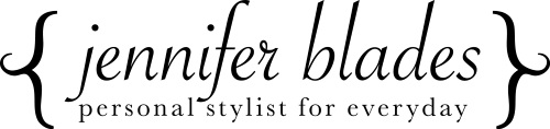 Jennifer Blades, Personal Stylist Logo