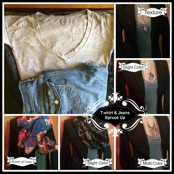 Fashion Report Tshirt and Jeans Jennifer Blades Personal Stylist Fashion Consultant Cincinnati Ohio